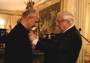 رضا دقتی Chevalier de l'Ordre du Mérite مئدالی الیرکن 2005